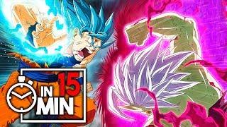 DRAG0N BAII SUPER 'ZAMASU' ARC IN 15 MINUTEN [Manga Version]