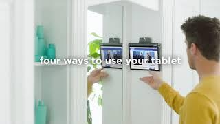 Video 2 of Product Lenovo Yoga Smart Tab Tablet