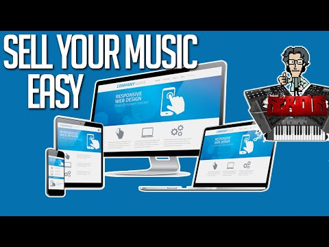 How To Make A Beat Selling Site & Song Website & Sell Your Music, Merch & More!