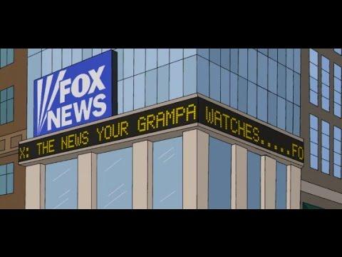 FOX shows making fun of FOX