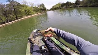 Fly Fishing on the BLUE RIVER in Oklahoma