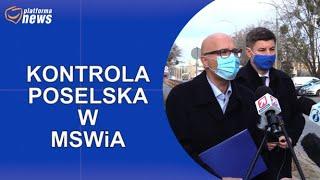 PN Kontrola poselska w MSWiA ws. szpitala na Stadionie Narodowym