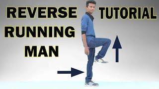 Shuffle Dance Tutorial #2 || Reverse Running Man || Nishant Nair