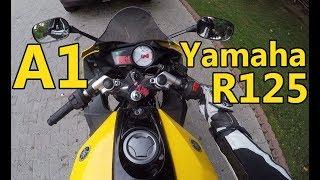 (Motor)Bike Yamaha YZF R125 Test Ride - A1