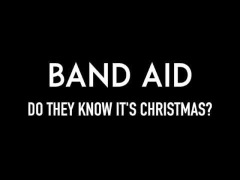 BAND AID | Do They Know It's Christmas? | Lyrics