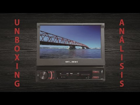 Analisis y unboxing - Radio CD/DVD/USB/SD/AUX/BLUETOOTH para coche  con pantalla BELSON
