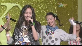 [HD] 2009.09.11 f(x) - Intro & LA chA TA [Debut Stage]