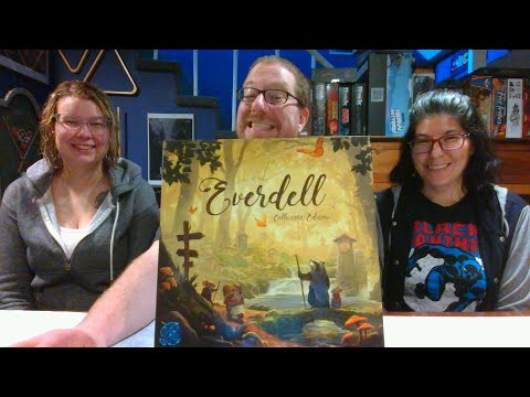 The Board Game Kaptain's review and tutorial for Everdell