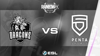 Rainbow Six Pro League 2017 - Season 1 Finals - PC - Black Dragons vs PENTA Sports - Final - day 2