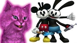 МИККИ МАУС  ИГРА МУЛЬТИК С ГОВОРЯЩИМ КОТЕНКОМ АБИ ► Epic Mickey: Две Легенды ◄ #2 ДЕТСКИЙ ЛЕТСПЛЕЙ