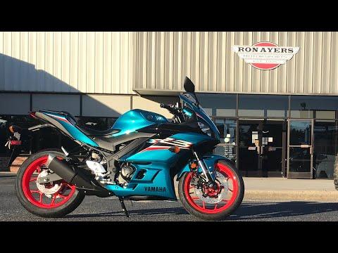 2021 Yamaha YZF-R3 ABS in Greenville, North Carolina - Video 1