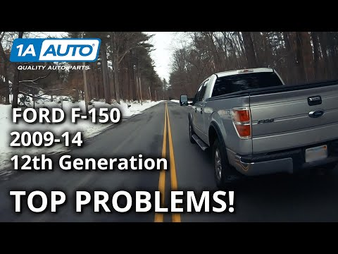 Top 5 Problems Ford F-150 Truck  12th Generation 2009-14