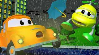 Odtahové auto pro děti - Malého Hektora srazí létající deštník