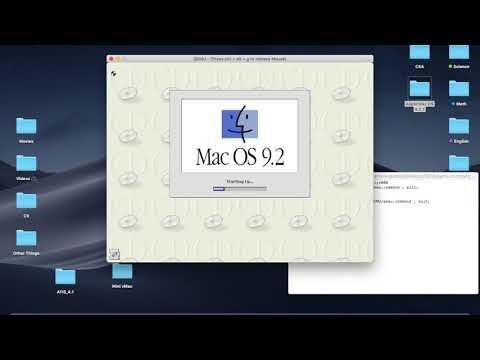 How to Run Mac OS 9 on Windows using QEMU - смотреть онлайн