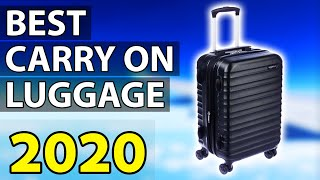 ✅ TOP 5: Best Carry On Luggage 2020
