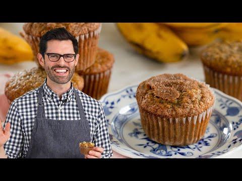 , title : 'AMAZING Banana Muffin Recipe