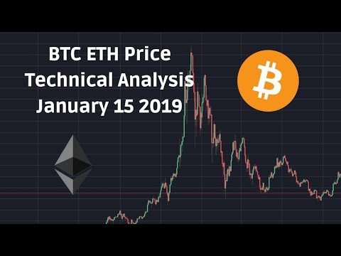Bitcoin Ethereum Price Technical Analysis January 15 2019