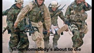 Freedom Never Cries Military Tribute with Lyrics