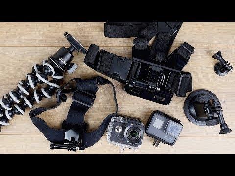 PREISWERT UND GUT! Actioncam Zubehör im TEST! // GoPro Hero 6 & Apeman A80 // DEUTSCH