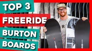 Top 3 Freeride Burton Snowboards Of 2020