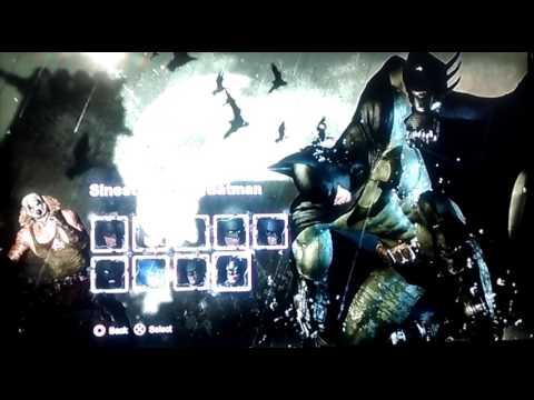 Batman Arkham city: how to change skins of Batman & Catwoman (English dubbed)