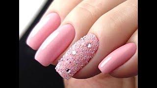 Красивый нежный розовый  маникюр 2019/Оригинальные идеи и дизайны ногтей фото/модные тенденции