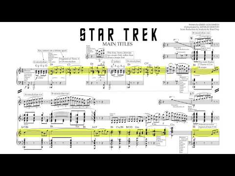 """Main Title"" - Star Trek: The Motion Picture (Score Reduction & Analysis)"