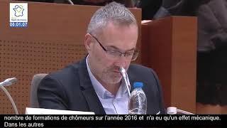 Intervention lors de la plénière du Conseil régional
