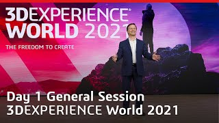 3DEXPERIENCE World 2021 - General Session Dzień 1