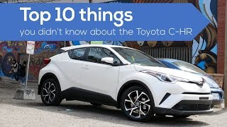 Top 10 things about the #Toyota CHR crossover / suv