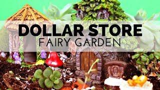 How To Make A Dollar Store Fairy Garden