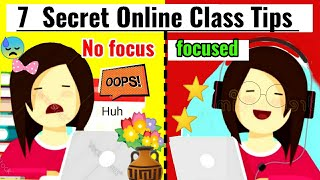 7 ONLINE CLASS TIPS & TRICKS | BEST Techniques to Be Successful in Online Classes| 100% Effective