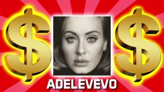Gambar cover HOW MUCH MONEY DOES ADELEVEVO MAKE ON YOUTUBE 2017 {YOUTUBE EARNINGS}