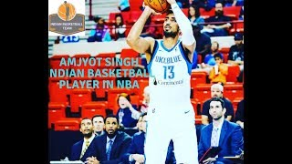 Amjyot Singh in NBA G League 2018-19 || Re-Signed with Oklahoma City Blue