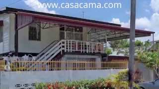 preview picture of video 'Vakantiewoning Paramaribo, Suriname: Cocoslaan Appartement te huur. Holiday House, Rental'