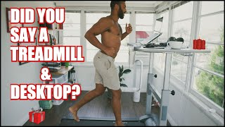 How To Use A Treadmill Desk & Actually Get Work Done [10000 Steps]