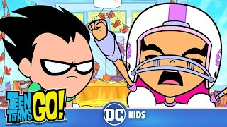 #StayHome Teen Titans Go! | Family & Thanksgiving | DC Kids