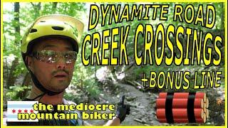 How to climb those creek crossings.