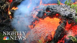 Officials Warn Largest Hawaii Volcano Eruption Is 'Imminent' | NBC Nightly News - Video Youtube