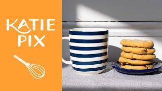 Microwave Chocolate Chip Cookie Recipe in 1 Minute | Katie Pix