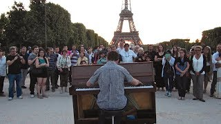 Amazing Street Pianist at the Eiffel Tower | Europe Episode #8
