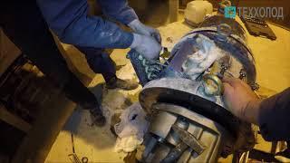 Демонтаж и разборка компрессора чиллера