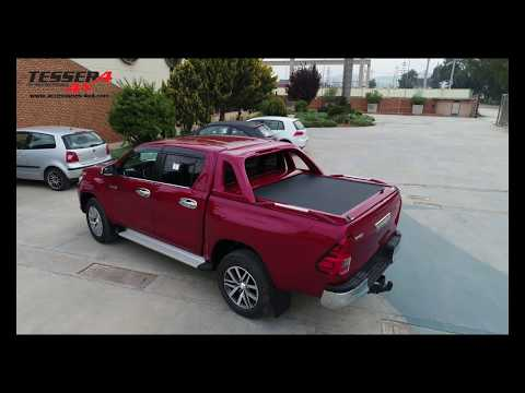 Toyota Hilux (Revo) 2016+ cobertura de caixa de enrolar de aluminio