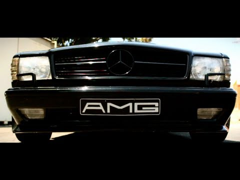 Mercedes 560 SEC AMG is Out of This World