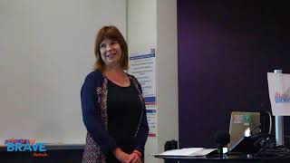 Michele Maunder shares her story at our Perth Show