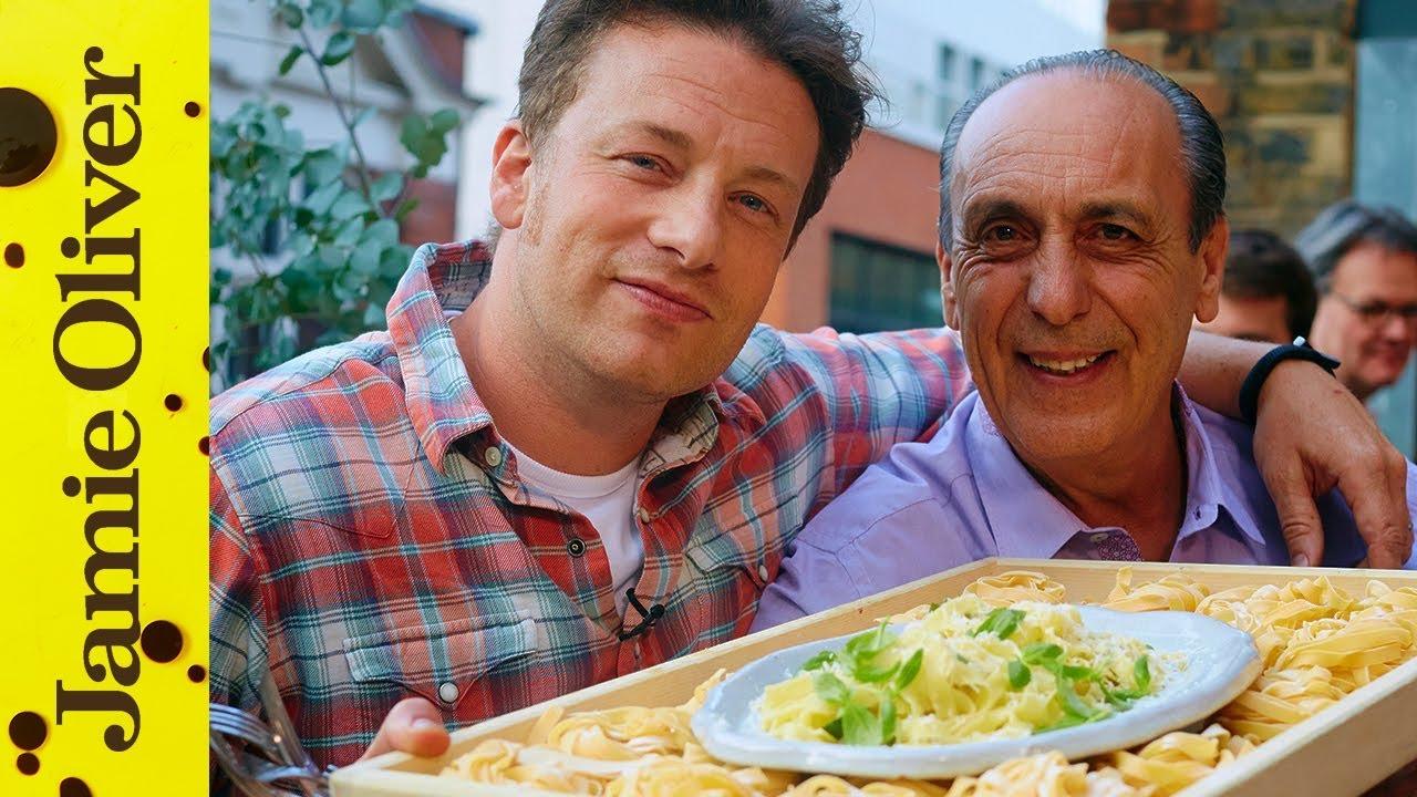 Jamie & Gennaro's Lemon & Basil Fettuccine