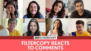 Thank you for all the LOVE ❤️ Here's a special video for crossing 7M subscribers on YT! React to this video and give us some more interesting comments for next time ;)  Follow us on Tik Tok ➡️ https://www.tiktok.com/@filtercopy Follow us on Instagram ➡️  http://bit.ly/FCGram