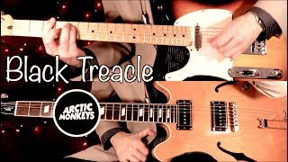 Arctic Monkeys - Black Treacle ( Guitar Tab Tutorial & Cover )