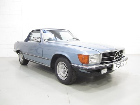 A Luxurious Low Mileage Example Mercedes-Benz 280SL In Superb Condition. SOLD!