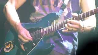 """Deep Purple """"Contact Lost"""" """"Wasted Sunset"""" """"The Well Dressed Guitar"""" Live@Zenith Paris, Nov13 2012"""